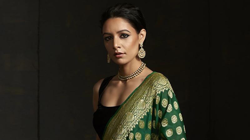 Banarasi sari is the national dress for Indian women