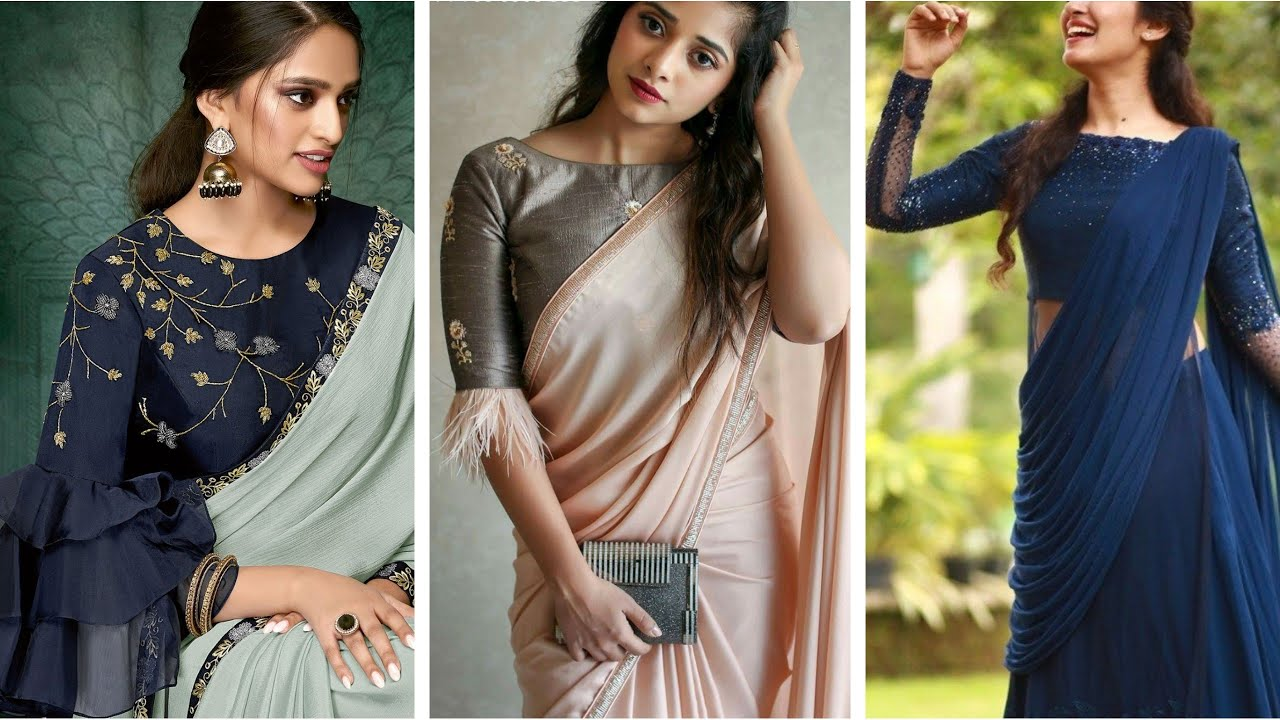 Current fashion trends for saris for women in India
