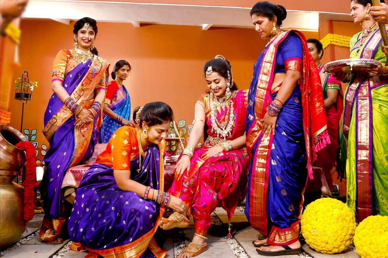 NEW TRENDS INDIAN WEDDING RECEPTION SARIS FOR BRIDE