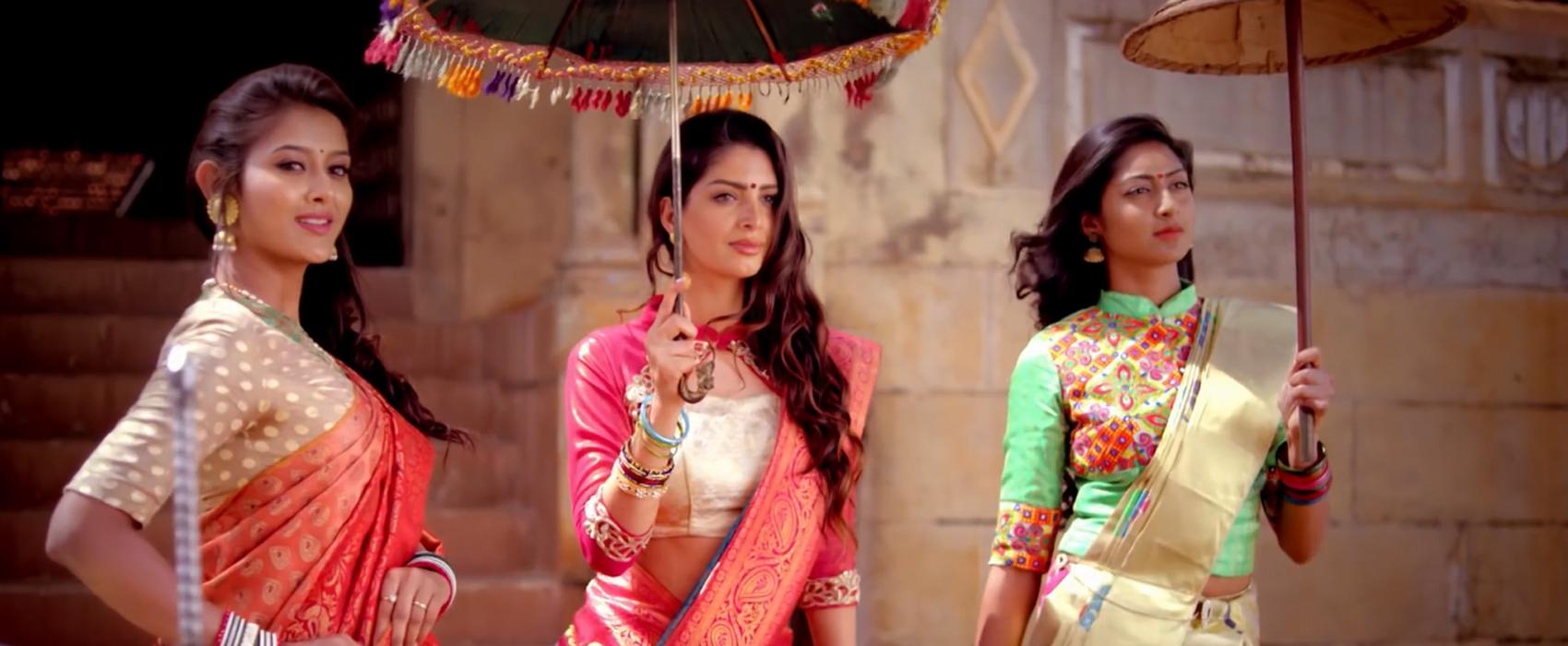 Attractive Silk and Zari Sarees put on Display at Lakkars