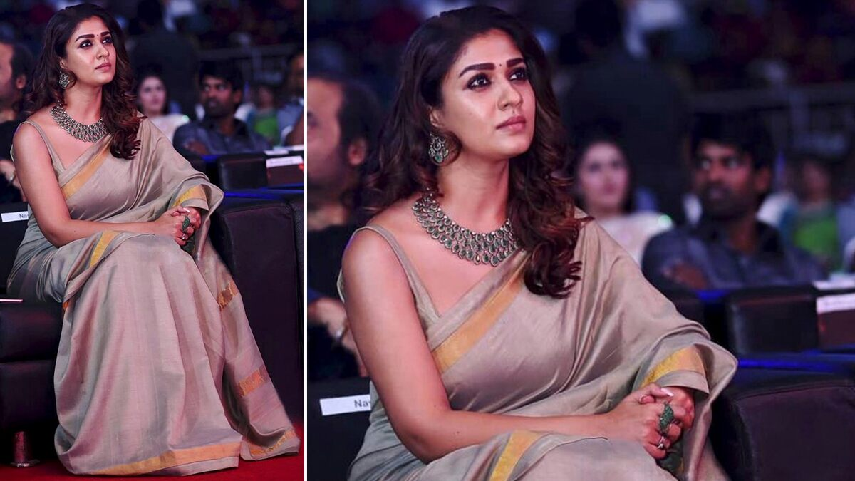 Nayanthara Birthday Special: Simplicity is Her Fashion Wardrobe