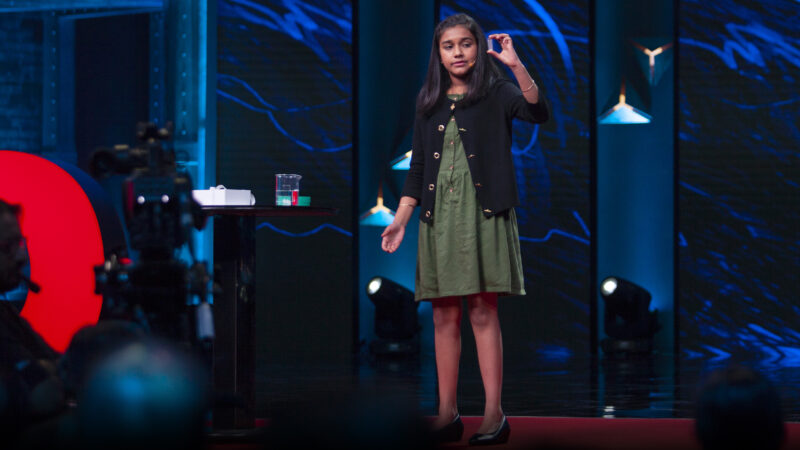 Young scientist focused on social change including a device that detects lead in water and an app that detects cyberbullying.